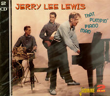 JERRY LEE LEWIS 'That Pumpin' Piano Man'  - 2CD Set on Jasmine