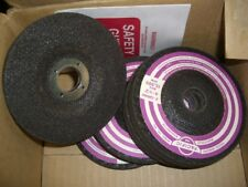 """27X PACIFIC 4-1/2"""" x 1/4"""" x 7/8"""" Hole Depressed Center Abrasive Grinding Wheels"""