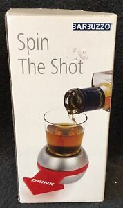 Spin-The-Shot Spinning Shot Glass Drinking Novelty Gift Game Box NEW