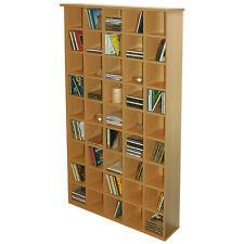 PIGEON HOLE - CD Storage Shelves - Oak 2441OC