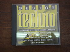 BEST OF TECHNO Volume four- 10 Techno hits- Compilation CD
