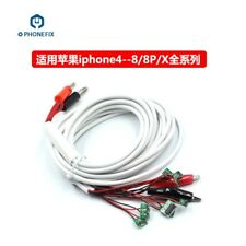 DC Battery Repair Current Test Power Supply Cable for iPhone 4 5 6 6S 7 8 X