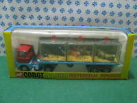 Vintage - SCAMMEL Handyman MK.3 Tractor Unit and trailer - Corgi Major 1139 .