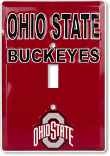 Ohio State Buckeyes Switch Plate Light Switch Cover Made in the USA