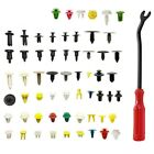 500* Car Door Panel Trim Push Pin Clips Fastener Bumper Rivet Retainer W/tool  for sale