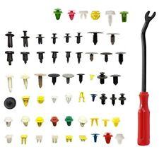 500* Car Door Panel Trim Push Pin Clips Fastener Bumper Rivet Retainer W/tool(Fits: More than one vehicle)