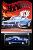 2020 Hot Wheels RLC Exclusive 69 Custom Mustang Blue Original 16 In Stock