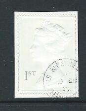 GREAT BRITAIN 1999 PROFILE ON PRINT sg2077 SELF ADHESIVE FINE USED