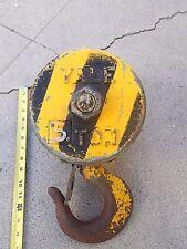 Yale 5 Ton 10,000 pound Double Sheave Pulley Snatch Block Hoist Hook Rigging