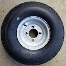 5.70-8 570-8 5.70x8 Trailer Tire Rim Wheel Pop up Camper Boat 4-Hole 8ply Galv