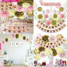Pink and Gold Baby Shower Decorations For Girl GROWING A PRINCESS SASH,