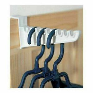 4 Over Door Plastic Ironing Hanging Hook Laundry Clothes Storage Hangers Holders