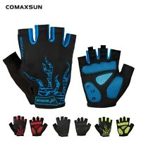 Cycling Gel Pad Half Finger Short Finger Gloves Breathable Shockproof Gloves G01