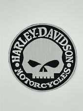 Harley Davidson Patch Aufnäher Skull Biker Motorrad Patches Set Aufbügler
