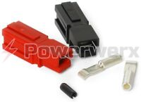 Powerwerx 15 Amp Unassembled Red/Black Anderson Powerpole Connectors - 10 Sets