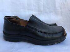 Birkenstock Footprints Womans US 7 Black Leather Loafers Shoes EUR 38 Comfort