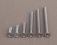 Suzuki UH200 AN250 Burgman Front & Rear Brake Reservoir Lid Cap Screws Stainless