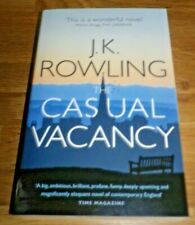 The Casual Vacancy by J. K. Rowling Paperback Book VGC