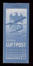 Germany Michel #MH20.1 VF Mint Scarce Complete Booklet