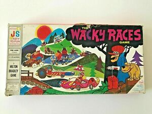 Vintage 1969 John Sands Milton Bradley The Wacky Races Game - Board Game