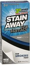 Stain Away Cleanser For Partials 8.40 oz (Pack of 2)