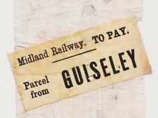 MS2957 1891 GB RAILWAY L&YR PARCELS WAY BILL *Guiseley Station* Stamp NORMANTON