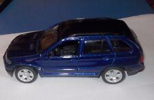 VOITURE BMW X5 - WELLY - modèle en métal