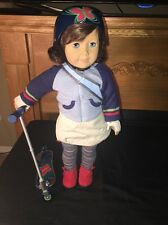 LINDSEY 1ST AMERICAN GIRL OF YEAR DOLL 2001 COMPLETE OUTFIT Helmet Scooter LOOK