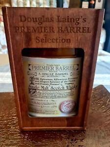 Caol-Ila Premier Barrel Douglas Laing 10 Jahre in edlem Dekanter und Holzbox