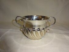 Antique Sterling Silver Twin Handled Bowl - London 1894 Robert Stebbings - 153g