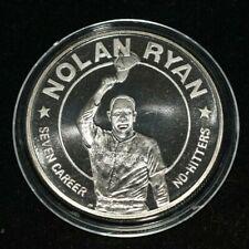 NOLAN RYAN COMMEMORATIVE  LIBERIA  1993 UNC -Seven Career - PROOF