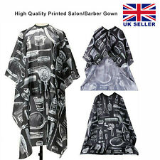 Professional Hair Cutting Gown Salon Barber Hairdressing Cape Unisex Apron UK