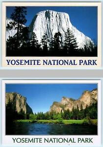 "2 ~ 4""x6"" Postcards YOSEMITE NATIONAL PARK ~ El Capitan & Gates of the Valley"