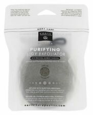 Earth Therapeutics Purifying Body Exfoliator Sponge - Black with Charcoal