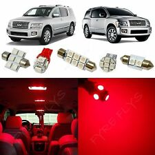 19x Red LED lights interior package kit for 2004-2010 Infiniti Qx56 IQ2R