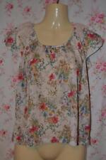 Floral Other Tops Size Tall for Women
