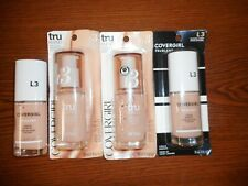 4 Covergirl Tru Blend Liquid Makeup L3 Natural Ivory 1oz Ea 3 In Package 1 Loose