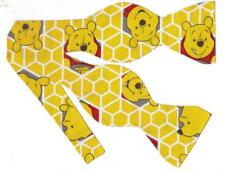 Winnie the Pooh Bow tie / Self-tie Bow tie / Winnie the Pooh and Honeycomb