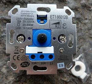Dimmer LED eTrafo Glühlampe universell pass.f.Gira,Jung,Busch-Jäger,Merten4+6mm