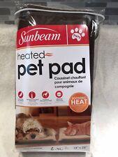Sunbeam Heated Pet Pad NIB