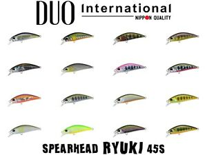 DUO Spearhead Ryuki 45S Sinking Minnow Trout Lure - Select Color(s)