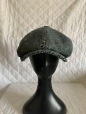 HARRIS TWEED Newsboy Cap Size 59cm