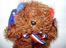 K & K Games Bean Bag Collectibles Cute Patriotic Gopher ~ New