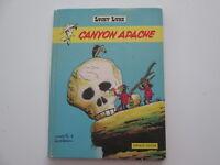 LUCKY LUKE EO1971 CANYON APACHE ABIME/BE EDITION ORIGINALE REFV1 DARGAUD