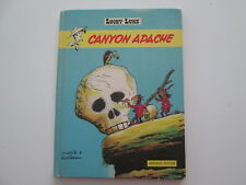 LUCKY LUKE EO1971 CANYON APACHE ABIME/BE