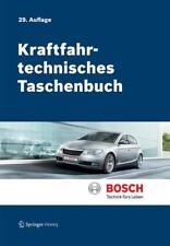 Kraftfahrtechnisches Taschenbuch Robert Bosch