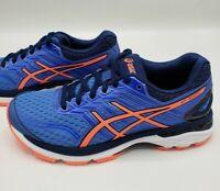 Asics GT-2000 5 Regatta Blue Coral Running Shoes Sneakers T757N-4006 Women's 6