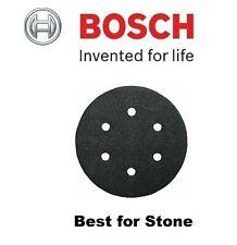 JOB LOT E: 100 No x Bosch STONE Sheets (Dia=150mm) (Various GRITS) (150p each)