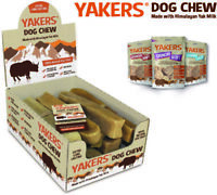 Yakers Himalayan Yak Milk Dog Puppy 100% Natural Hard Tough Dogs Treats Chew