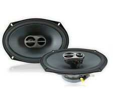 "ALPINE SPS-619 6""X9"" 520W 3 WAY FULL RANGE CAR STEREO SPEAKERS SET"